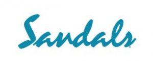 Sandals Logo, Partner Brand