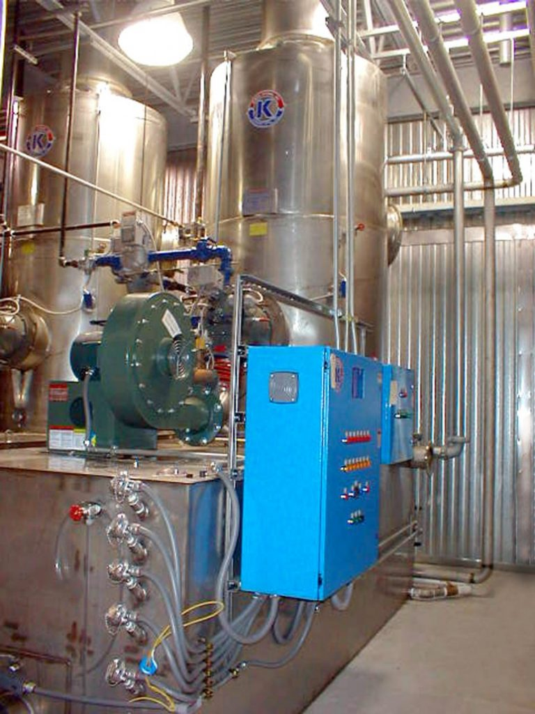 Water Heating, Direct Contact Heater