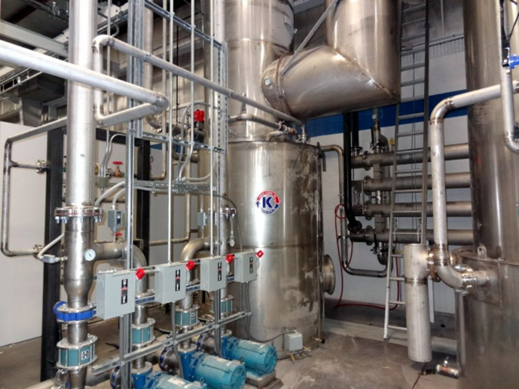 Wastewater Services, Heat Recovery System