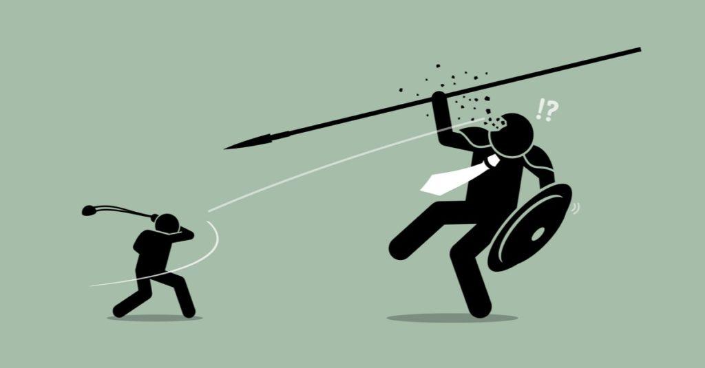 David vs. Goliath Graphic